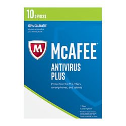McAfee Antivirus Devices Subscription Product product image