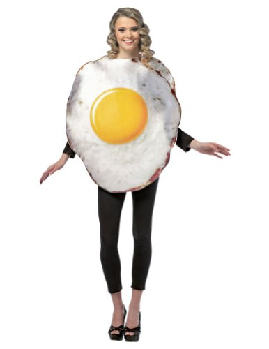 Halloween Costumes Item - Egg Fried Adult Costume