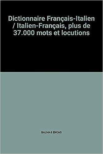 dictionnaire français italien gratuit télécharger