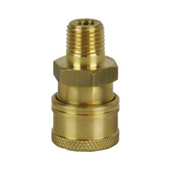 STEEL 1//4 FNPT PRESSURE WASHER QUICK CONNECT PLUG SET OF 4 85.300.101