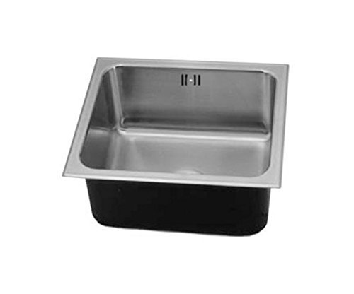 Just SF-ADA-1515-A-GR,5.5,DCR-R 18 Gauge Drop In One Bowl No Ledge Sink with Integra Flow System by Just Manufacturing by Just Manufacturing