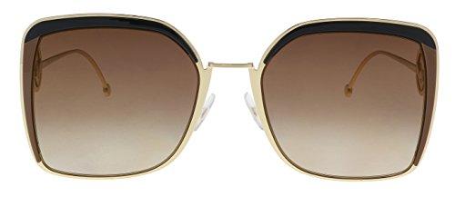 Sunglasses Fendi Ff 294 /S 009Q Brown / JL brown ss gold lens