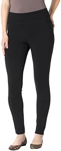 Jag Jeans Women's Petite Ricki Pull On Ponte Knit Legging