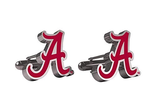 AdSpec NCAA Alabama Crimson Tide Mens Cufflinks
