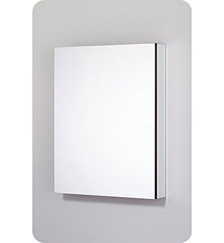 Robern PLM2430WRE PL Series 23 1/4-Inch Wide by 30-Inch High Right-Hinge Flat Mirrored Door, Plain by Robern