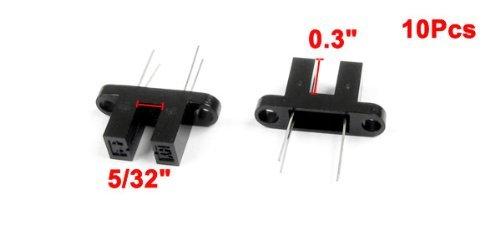 DealMux HY860D 5/32 Slot PCB Photo Interrupter Sensor, 10 Pieces