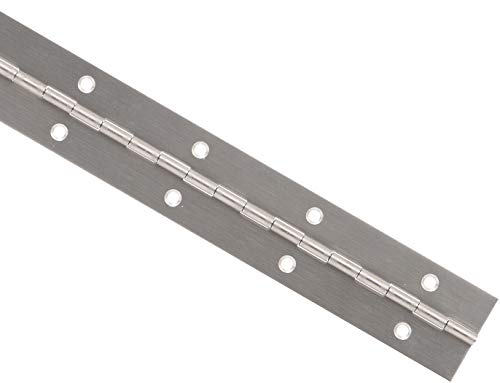 4' Steel Hinge Pin - Hillman Hardware Essentials 853402 Continuous Hinge - Fixed Pin 48