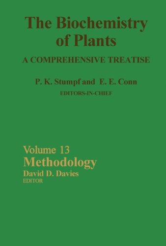 The Biochemistry of Plants, A Comprehensive Treatise, Volume 13: Methodology PDF