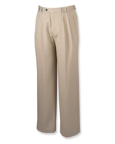 Gabardine Pleats Trousers - 2