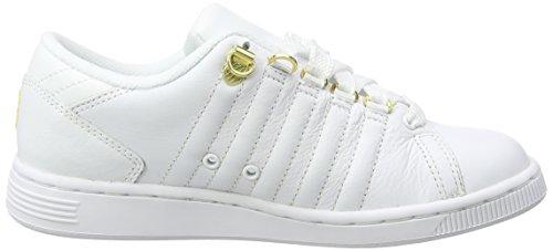 K-Swiss Lozan III 50th, Women's Low-Top Sneakers White (White/Gold)