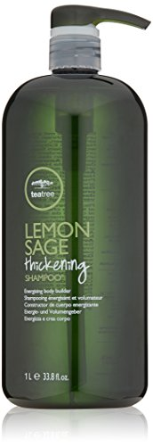 Lemongrass Sage - Tea Tree Lemon Sage Thickening Shampoo, 33.8 Fl Oz