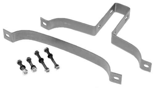 "Exhaust-Mate 35757 5"" Heavy Duty U-Bolt Exhaust Clamp"
