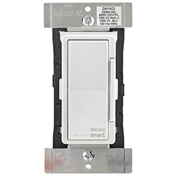 Leviton Dw1kd 1bz Decora Smart Wi Fi 1000w Incandescent