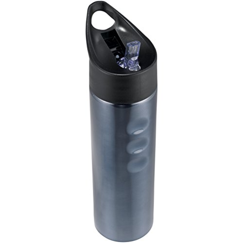 - Bullet Trixie Stainless Sports Bottle (10.4 x 2.9 inches) (Titanium)
