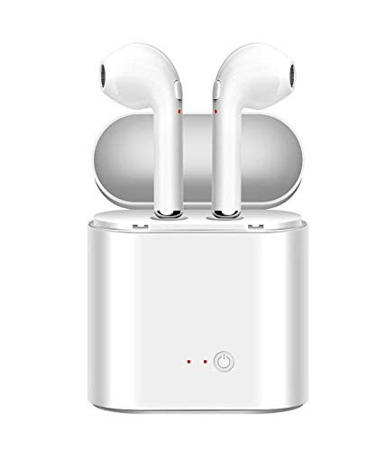 Bluetooth Earbuds,Bluetooth Headphones,Wireless Earphones,Wireless in-Ear Headphones,Sport Bluetooth Earphones,White