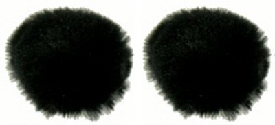 WindCutter Microphone Windscreen for Lavalier mics (Set of TWO) - Reduce wind noise - Express Via International Mail Usps
