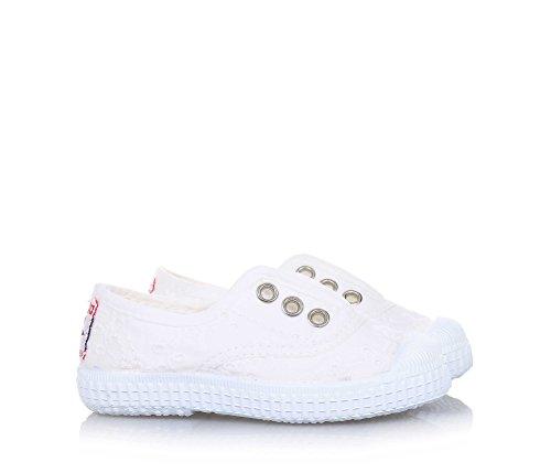 27 Tissu Élastique Cienta Bianco 70998 Fille 21 Chaussures Blanc n1X1TAqY