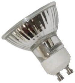 8-Lamps 50W 50-Watt GU10 Base 50Watt 110V 120V 130Volt MR16 FL FG Light Bulb A20590