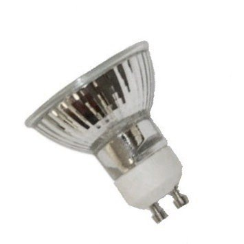 35 Watts MR16 GU10 Base FMW Flood Halogen Light Bulb With LENS Cover 120 Volts Long Life 6,000 Hours 36 DEGREE BEAM SPREAD