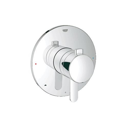 Grohflex Cosmopolitan Dual Function Pressure Balance Trim With Control Module by GROHE