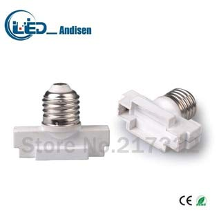 Halica E27 TO G53 adapter Conversion socket material fireproof material E12 socket adapter Lamp holder