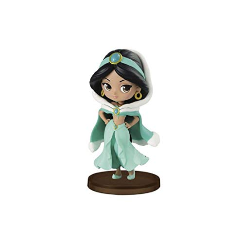 Banpresto - Figurine Disney - Jasmine Winter Costume Q Posket Characters Petit 7cm - -