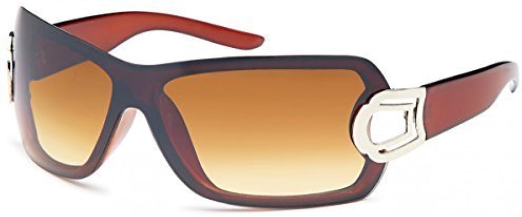 Mono de cristales en gafas de sol Aviator unisex gafas de ...