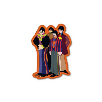 (Beatles Yellow Submarine Vynil Car Sticker Decal - Select)