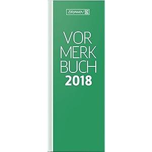 Vormerkbuch 11x30cm grün 1 Seite/1 Tag Deckenband 2015 (107850250) (Accesorio)