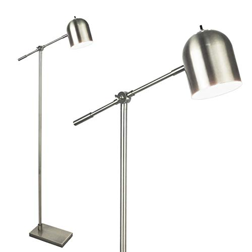 (Light Accents Floor Lamp Adjustable Cantilever Modern Bright Standing Lamp Showroom Quality 59