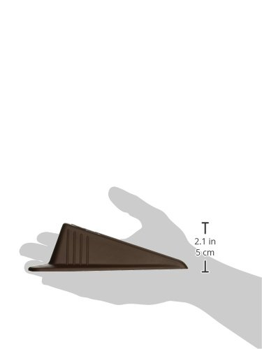 Giant Foot Doorstop, 6-3/4'' x 3-1/2'' x 2'', Brown, 2/Pack (00969) by Master Manufacturing (Image #2)