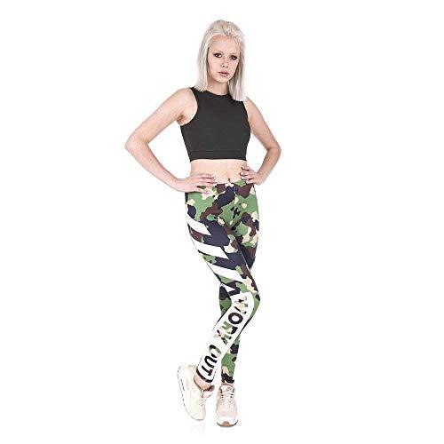 Vita Pantaloni Attillati Elasticizzati Grazioso Stampa Leggings Da Camo Biran Allenamento Sportivi A Alta Legging Fitness Lga44830 Yoga Esecuzione agq6OU6dwH