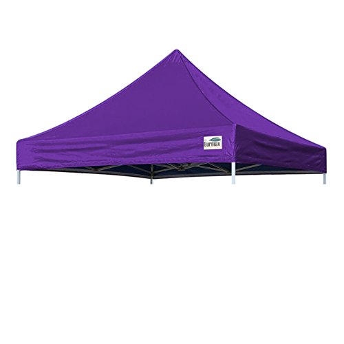 Eurmax New Pop up 10×10 Replacement Instant Ez Canopy Top Cover (Purple)
