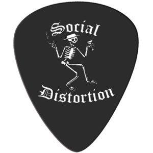 Social Distortion Guitar Pick~ Skelly (Social Distortion Guitar)