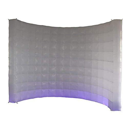 Photo Booth Backdrop Wall - Inflatable Portable Photography Backdrops with LED Changing Lights for Birthday, Graduation,Wedding,Parties (9.8x6.6ft) by SUNSHINAE (Image #8)