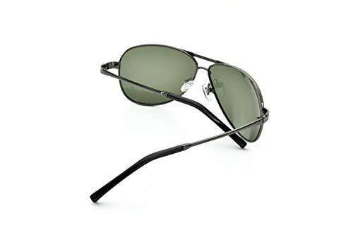 polarizadas sol de protectoras UV400 completan viajar Huyizhi verdes ciclo Gafas que hombres Green conducen de aire Dark sol Guay que libre para de un los gafas Gafas al qtqAxwBIP