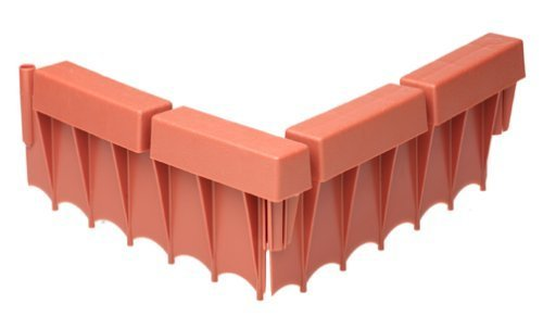 Suncast BBE10TC 12-inch Interlocking Border Edging