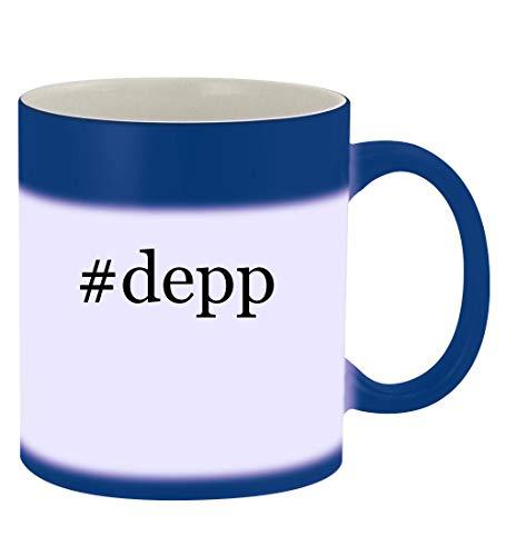 #depp - 11oz Hashtag Magic Color Changing Mug, Blue]()
