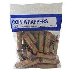 Crimped Penny Coin Wrappers – 36 Count
