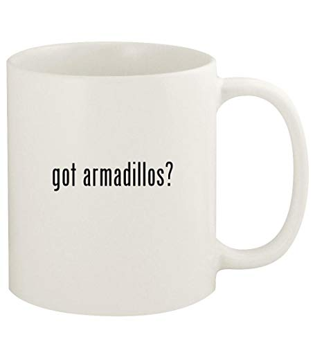 Holiday Armadillo Costume (got armadillos? - 11oz Ceramic White Coffee Mug Cup,)