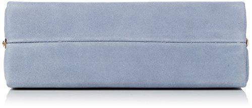 Dune Baltimor - Pochette da giorno Donna, Blue, 6.5x9.5x19.5 cm (W x H L)