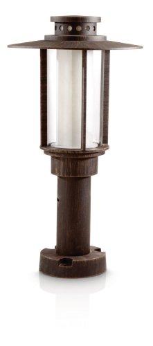 Philips myGarden Sockelleuchte Origin, 14W energiesparend, rostbraun, 153228616