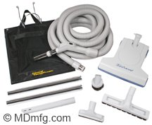 MD 30ft Deluxe Kit with TurboCat Vacuum Brush