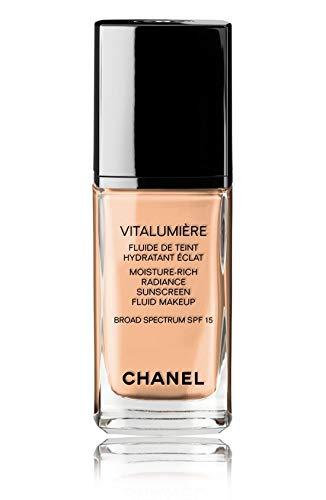 VITALUMIÈRE Moisture-Rich Radiance Sunscreen Fluid Makeup Broad Spectrum SPF 15 Color: 41 Natural Beige