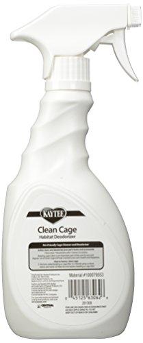 Kaytee Clean Cage Habitat Deodorizer Spray, 16 Ounce