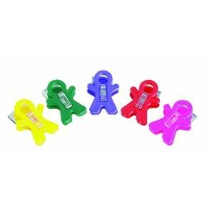 Adams 3303-50-3848 Magnet Man Clip, Assorted Colors by Adams