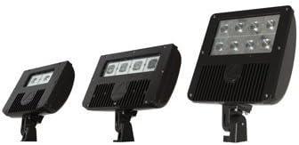 Lithonia Lighting DSXF1 LED 2 50K M4 240TJJ LED Outdoor Floodlight,45 watts, Black