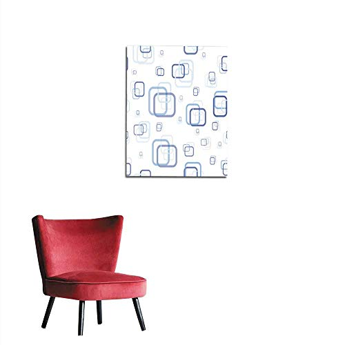 longbuyer Art Stickers Abstract Rectangle Seamless Pattern Mural 24
