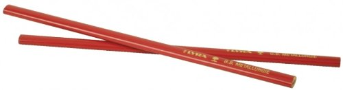 LYRA Kennzeichnung, 333 Zimmermannstift - Zimmermanns Bleistift, 100 Stück im Karton, 24 cm, rot, 20 x 20 x 30 cm, 4332103