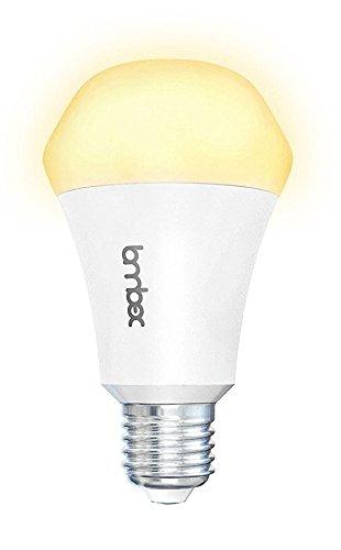 Lombex WiFi Smart Led Light Bulb,Compatible with Alexa Google Home IFTTT,Diamond Shape Bulb 10W(60W Equivalent) Smart Home Automation Dimmable Soft White(2700K) E26 E27 Light Bulb No Hub Required